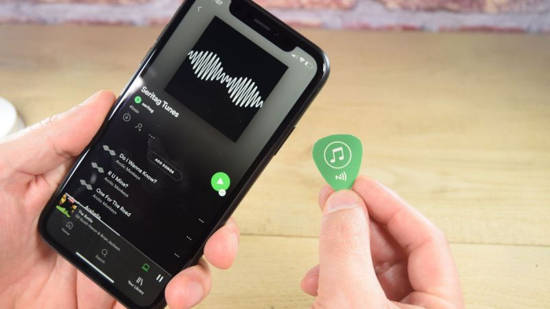 Image of Share Spotify Playlists with NFC Tags