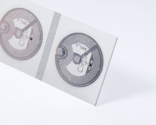 Image of 22mm Clear NTAG210µ NFC Tag