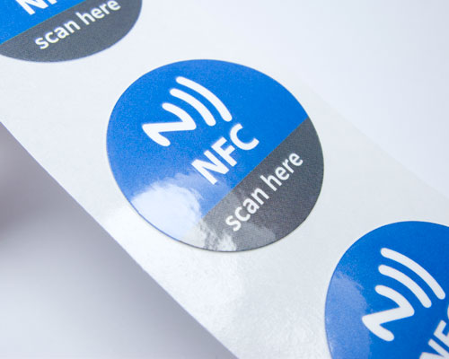 Image of Printed Labels HV Flex NFC Tag