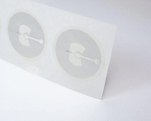 Image of 29mm Clear Wet Inlay NTAG213 NFC Tag