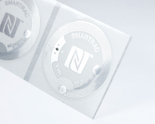 Image of 38mm Clear NTAG213 NFC Tag