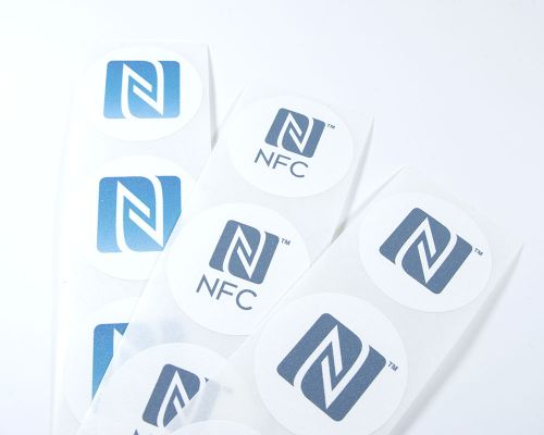 Image of N-Mark Printed Labels NFC Tag