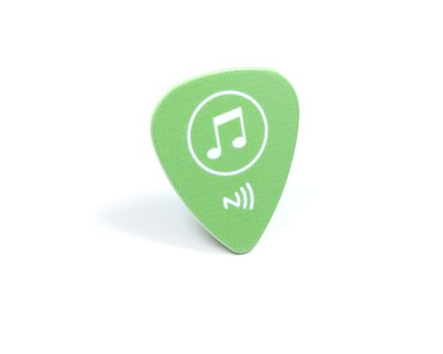 Image of Guitar Pick NFC Tag