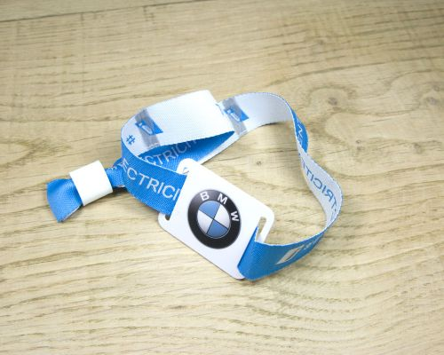 Image of Fabric Strap Wristband NFC Tag