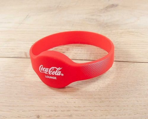 Image of Classic Silicone Wristband NFC Tag