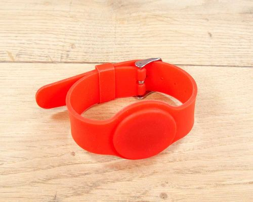 Image of Adjustable Silicone Wristband NFC Tag