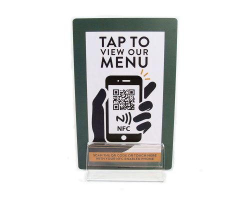 Image of Menu Card NFC Tag