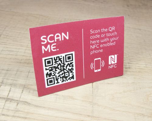 Image of Express Window Stickers NFC Tag